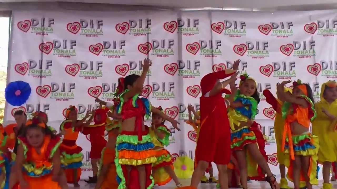 festival de primavera dif tonala baile de rio nios del caic loma dorada youtube