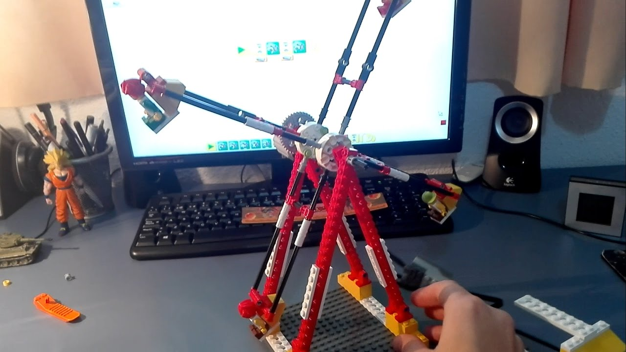 Noria Lego WeDo (Montaje) (Ferriswheel Lego WeDo)