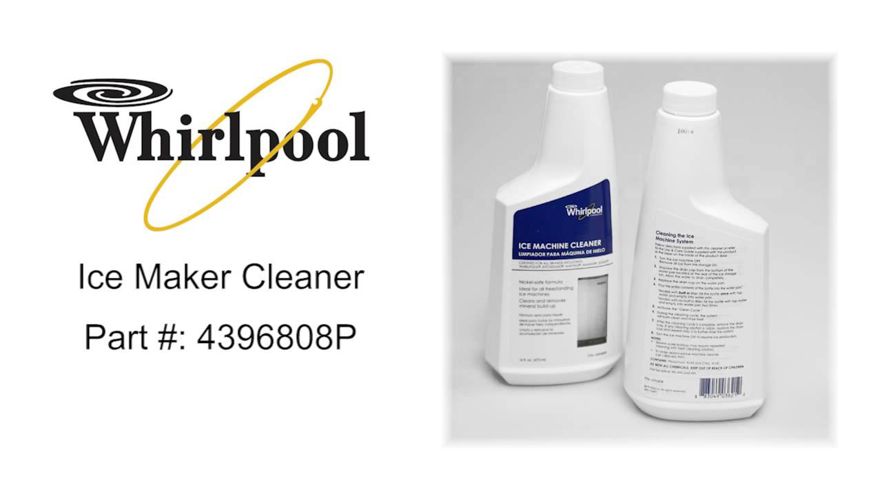 Whirlpool Ice Maker Cleaner Part #: 4396808P - YouTube