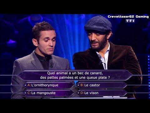 Qui Veut Gagner Des Millions (WWTBAM) France - 02/01/2015 - Ramzy et Malik Bentalha