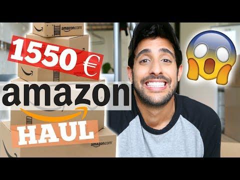 1550€ AMAZON HAUL! 😳💰 zu krass!! | Sami Slimani