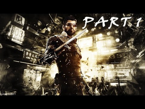 Deus Ex Mankind Divided Walkthrough Gameplay Part 1 - Intro (Ps4)