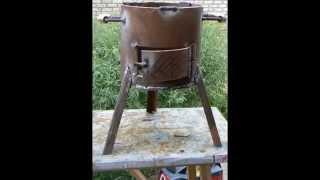 Как я делал печь для казана