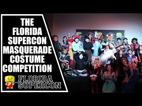 Florida Supercon Masquearde Costume Competition June 2015