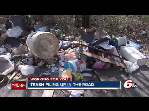 Trash piling up is a major concern in Indianapolis neighborhoods