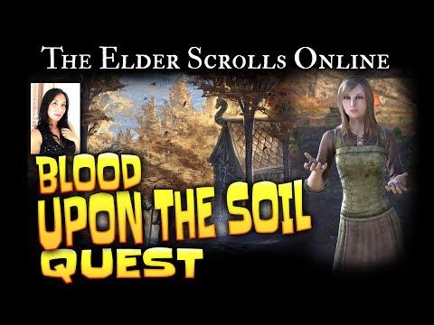 Elder Scrolls Online: Quest - Blood Upon the Soil