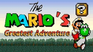 The Mario's Greatest Adventure (Demo) | Notable Super Mario World ROM Hack (スーパーマリオワールド)