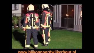 Stacaravan uitgebrand op Camping Sollasi Noordwijkerhout