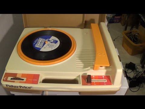 How To Repair A Fisher Price Record Player