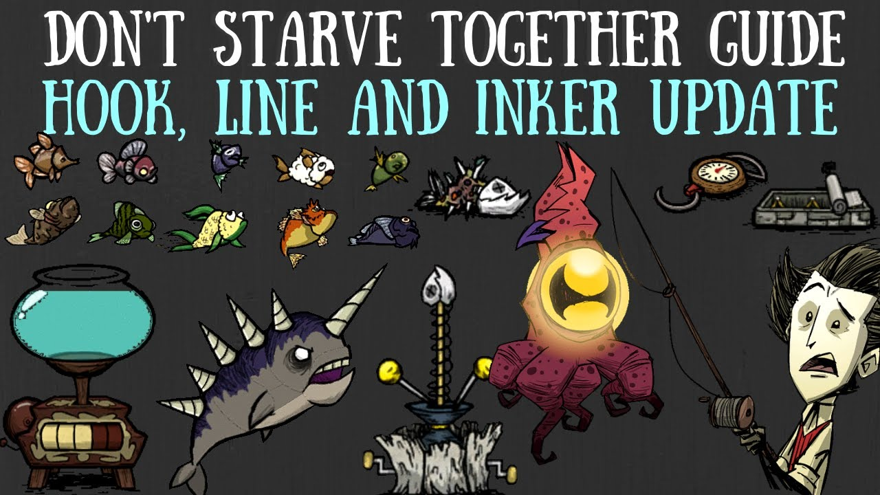 Don't Starve Together Guide: Hook, Line And Inker Content Update [BETA]