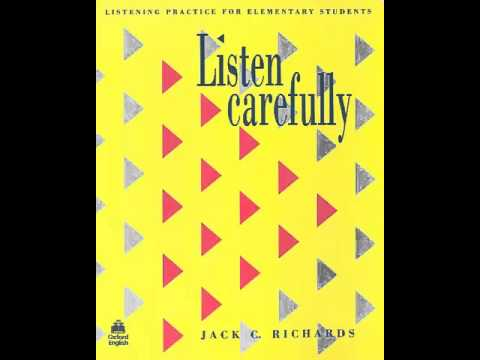 Listen Carefully - Unit 12 - Activity 1 - Job Interviews