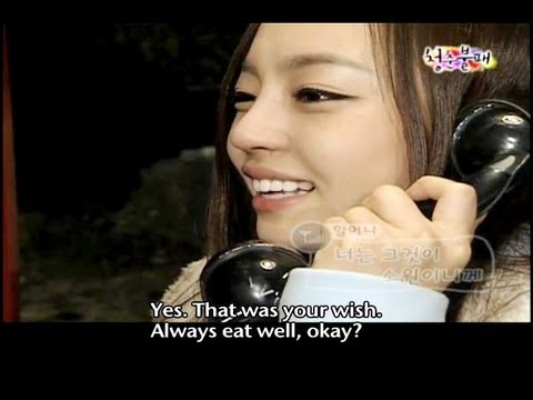 Invincible Youth (청춘불패) - Ep.3 : Harvest Winter Apple, Call Members' Grandparents