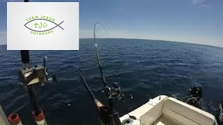 Chasing Harbor Beach Lake Trout; Lake Huron Lakers and Salmon during a Pure Michigan Weekend