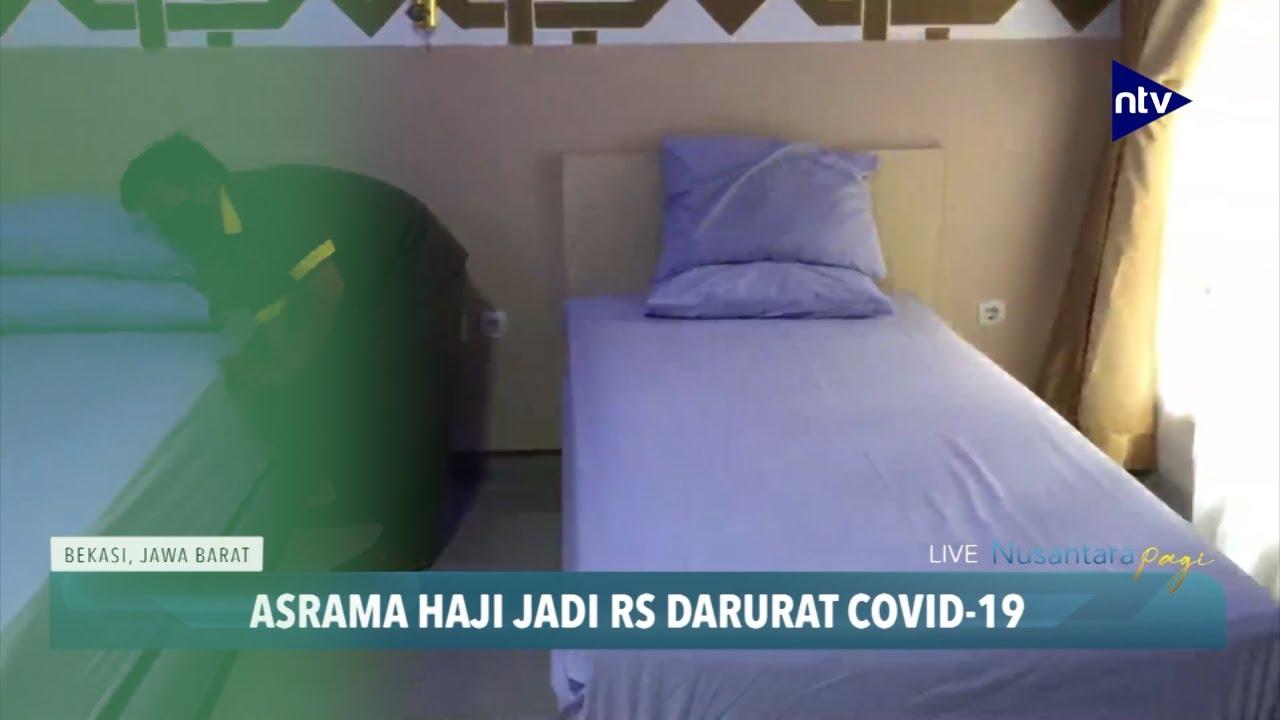 Asrama Haji Jadi Rumah Sakit Darurat Covid-19