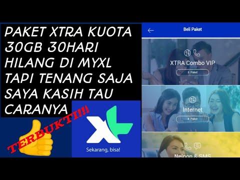 Cara Mengembalikan Paket Xtra Kuota Yang Hilang Youtube
