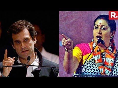 Smriti Irani Vs Rahul Gandhi   Chhota Bheem Vs Bigg Boss Over Data Leak Scandal