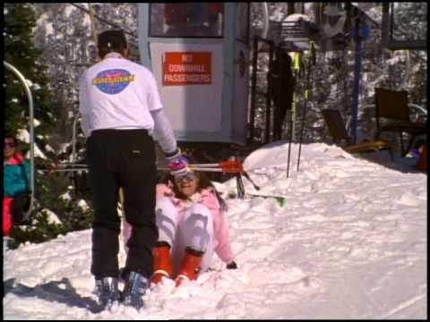 Funny Ski Lift Fail On A Snowboard Original Doovi