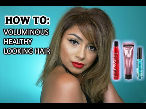 HOW TO: ADD VOLUME TO YOUR HAIR| DIY BLOWOUT