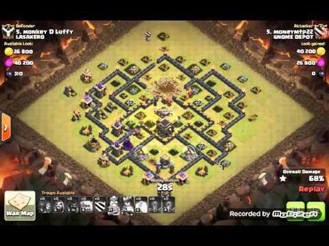 Harpo Clash of Clans War Win 214 Lasakero April 2106