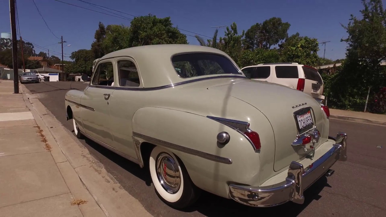 1948 Dodge Deluxe 6 Cylinder 3 Speed Manual with Fluid Drive