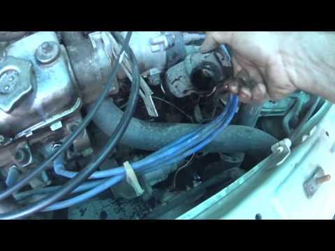 Замена термостата и термореле не сливая жижи ваз 21099