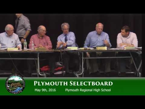 Public Hearing: The Northern Pass Project during a Selectboard Mtg 5/9/16