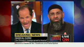 CNN: Eliot Spitzer to Imam: You are a