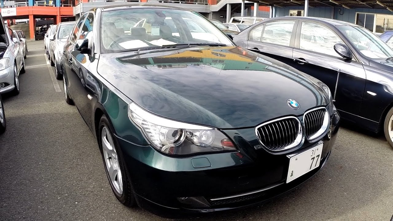 bmw japan 525i 2009 series green auctions rhd auto snapper rocks paint access