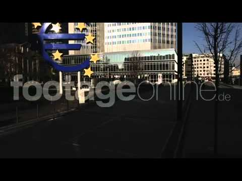 Euro Sign 4k Stock Footage