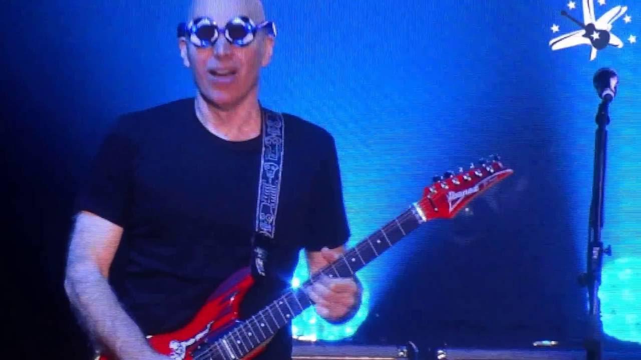 Joe Satriani 60th Birthday Steve Vai Big Bad Moon