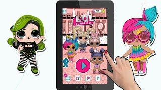 LOL Surprise Dolls Ball Pop Game Android iPad iPhone | #LOL Игра для Телефона и Планшета