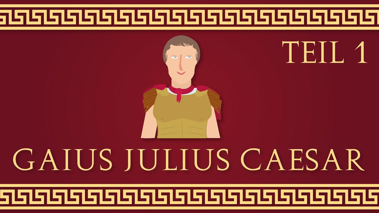 Gaius Julius Caesar Schwere Zeiten 1 5 Animation Youtube