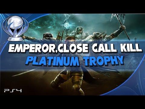 The Elder Scrolls Online [Emperor,Close Call Kill,Platinum]Trophy