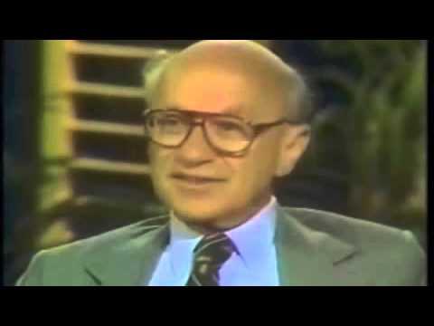 Milton Friedman On Interstate Commerce Act
