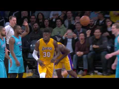 Charlotte Hornets vs LA Lakers | Full Game Highlights | 16-17 NBA Season