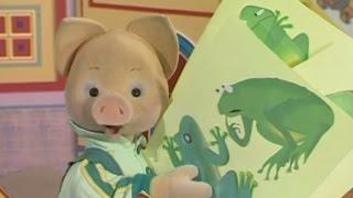 Учим английский язык вместе с Хрюшей - урок 38 - Обучающая программа для малышей