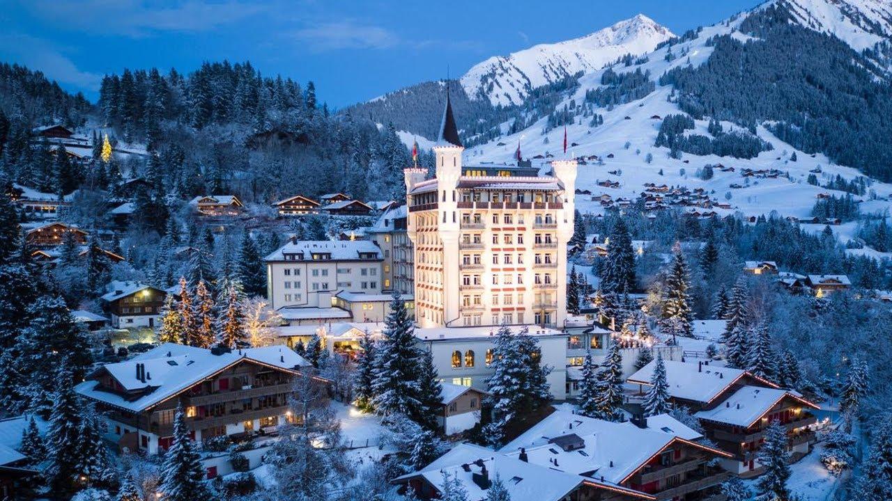 Top 10 Luxury Hotels in Gstaad, Switzerland   Upscale Resort Town in  Bernese Oberland, Swiss Alps.