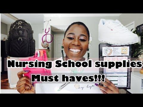 Nursing School Supplies || Must-haves || Mylifeassugar