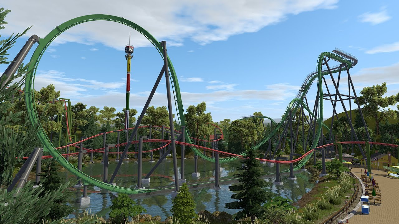 Lechie - NoLimits 2 (B&M Dive Coaster)