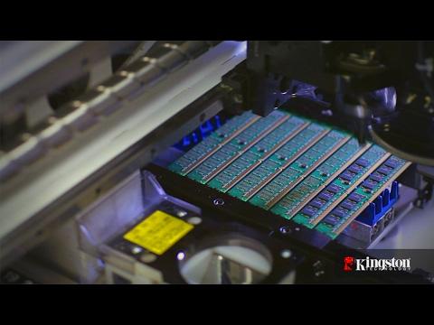Kingston DRAM Manufacturing Tour