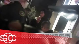 Milwaukee police release body cam footage showing Sterling Brown being tased | SportsCenter | ESPN