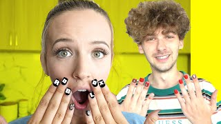 So We Made Custom ROBLOX Nails.. ft. Poke!