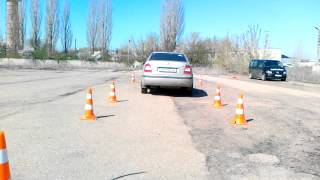 Автодром  Анна - парковка