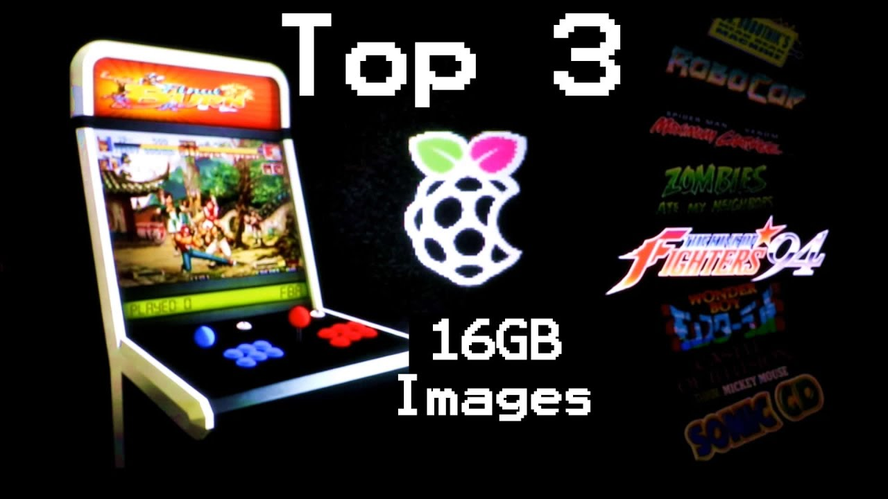 The Best 16GB Pi Retro Gaming Images - TESTED by DrewTalks