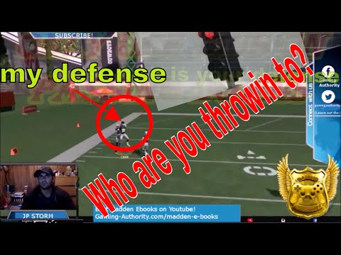 MADDEN 17: BEST COVERAGE FROM NICKEL 2-4-5 DBL A GAP, BEST COVERAGE PLAY THAT KEEPS THEM THINKING
