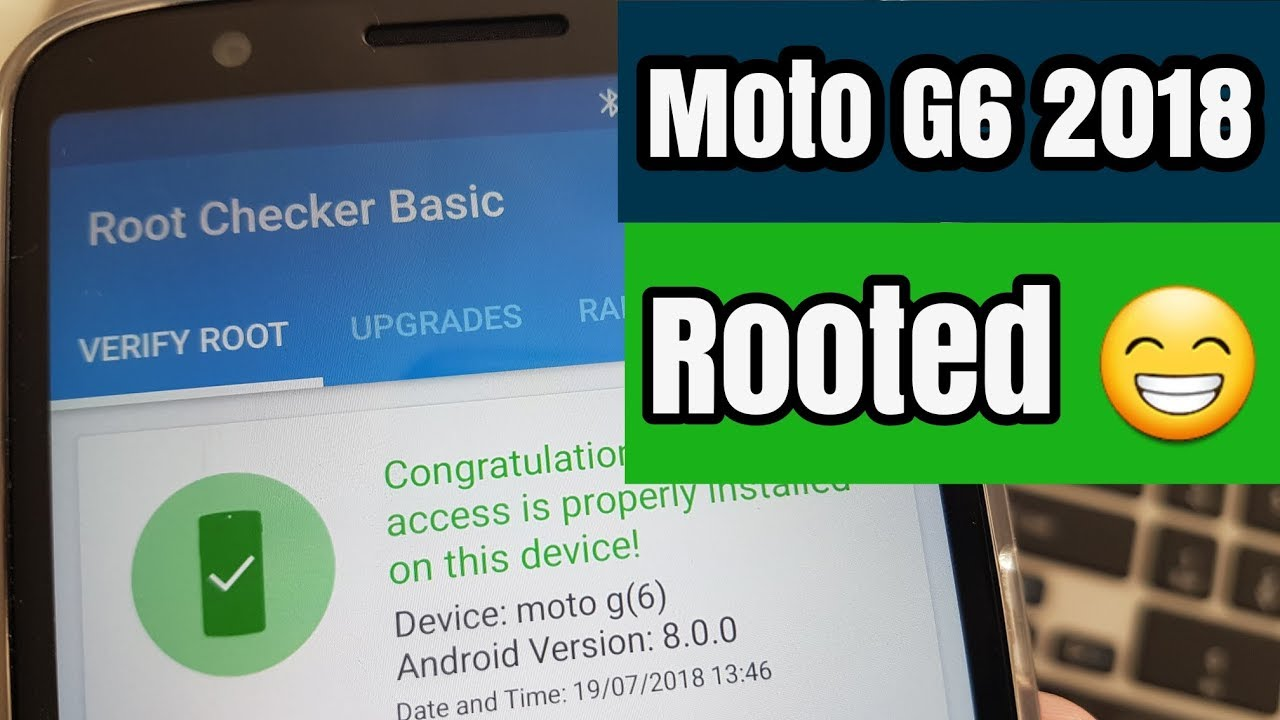 Moto G6 2018 Install Twrp & Root Easy Tutorial