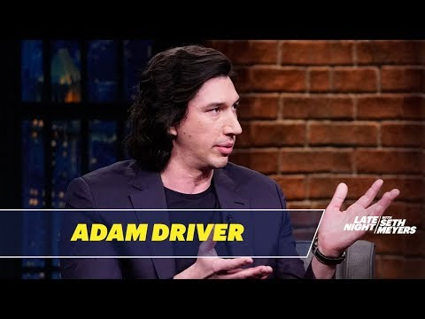 Adam Driver Doesn't Like Watching Himself in Movies