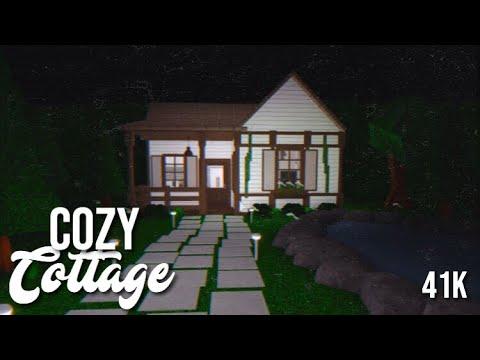 Bloxburg Cozy Cottage Speedbuild Youtube