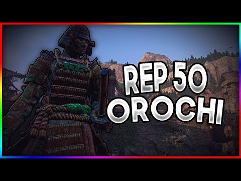 [For Honor] Rep 50 Orochi is Determined To Take Me Down