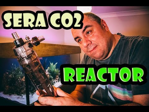 Discus Aquarium CO2 Upgrade - Sera Reactor